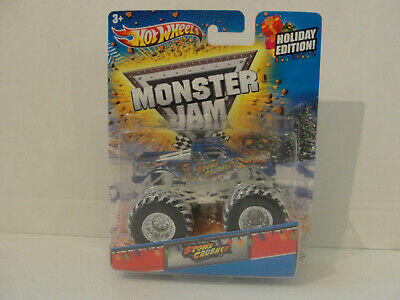 Hot Wheels Monster JAM 1:64  SPECTRAFLAME STONE CRUSHER Holiday Edition