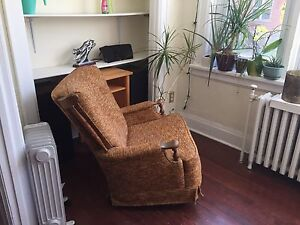 FREE- two comfy armed chairs