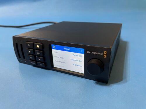 Blackmagic Design HyperDeck Studio Mini Ultra HD Broadcast Deck - HYPERD/STM