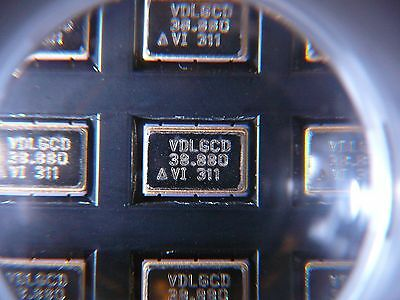 Vectron Vcxo Crystal Oscillator 1-ch 38.8800mhz Llcc 6-pin 070c New 2pkg