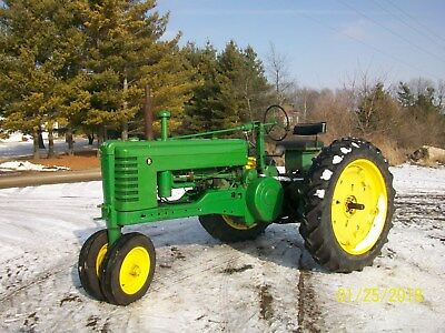 51 John Deere B Antique Tractor NO RESERVE Power Steering farmall allis oliver a