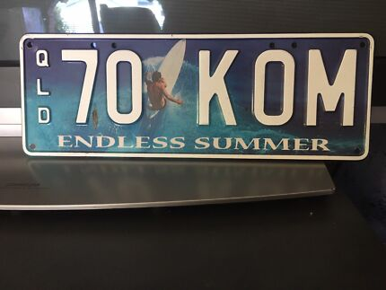 VW Kombi number plates Bundall Gold Coast City Preview