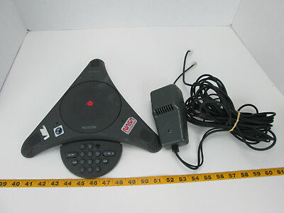 Polycom Speaker Phone Dsn Team Nasa Collectible W Power Cord Sound Station T