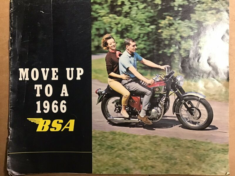 BSA Sales Brochure & Advertisment