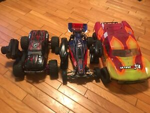HPI savage xs flux,  Kyosho Ultima Scr (Traxxas Bandit was sold)