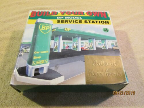 """BP """"Build Your Own"""" service station model or diorama, 1995"""