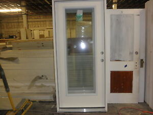 Therma Tru 36 Inch Full Glass Entry Door LH Or RH Smooth Fiberglass EBay