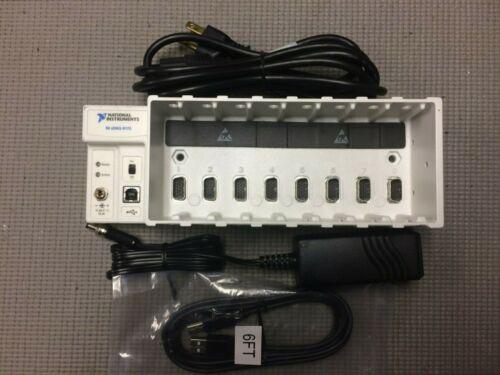National Instruments NI cDAQ-9172 USB Compact DAQ cDAQ (8-Slot) TESTED KIT
