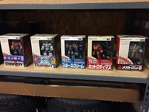 Revoltech Kaiyodo Transformers - lot of 5