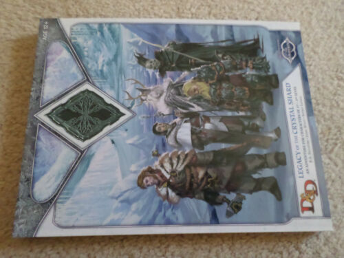 Legacy of the Crystal Shard  Adventure  Dungeons & Dragons