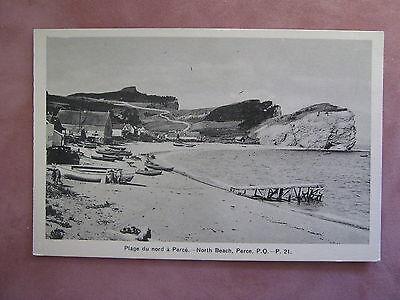Plage du nord a Perce Postcard, Calais FranceH.V. Henderson Publisher