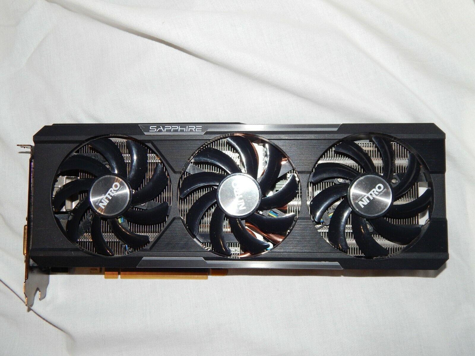 Sapphire Radeon Nitro R9 390X 8GB GDDR5 PCI-E 3.0 Grafikkarte