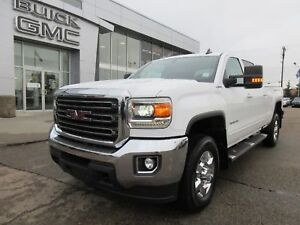 2018 GMC Sierra 3500HD SLE-6.0 GAS, CHROME RIMS, BUMPER-LOW KMS