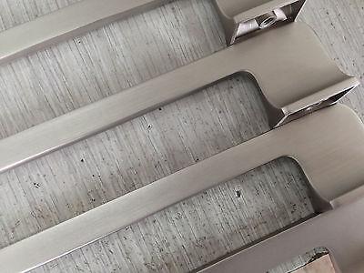 "Lot 50, 6"" Kitchen Commode Door Drawer Handle Pull knob Satin Nickel 64SN128"