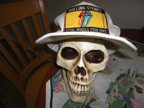 rolling stones hat Steel Wheels Tour 1989 snapback pre owned vintage