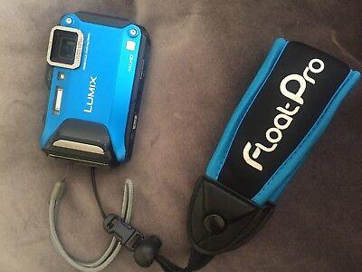Waterproof Adventure Camera: Panasonic LUMIX DMC-TS6A, Blue, Lightly Used