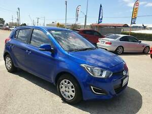 2014 Hyundai i20 PB MY14 Active Sleek Black 4 Speed Automatic Hatchbck Welshpool Canning Area Preview