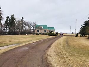 Story and half house for sale in the country