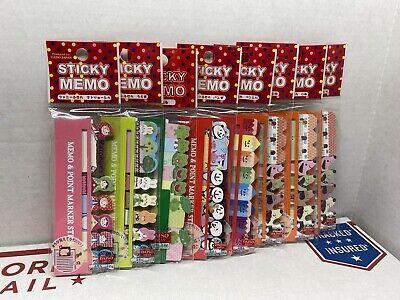 Lot Of 8 New Daiso Japan Sticky Memo
