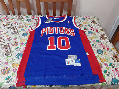 RODMAN CAMISETA DE LA NBA DE LOS PISTONS AZUL. TALLA XL.