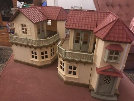 Sylvanian Family houses