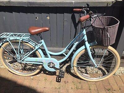 Pazzaz 24 Inch Wheel Size Kids Girls Heritage Bike Bicycle with Basket