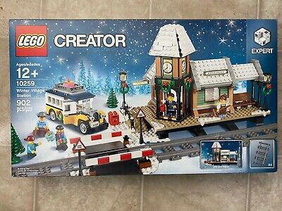 LEGO 10259 2017 Creator Expert Winter Village Train Station Retired Holiday NEW