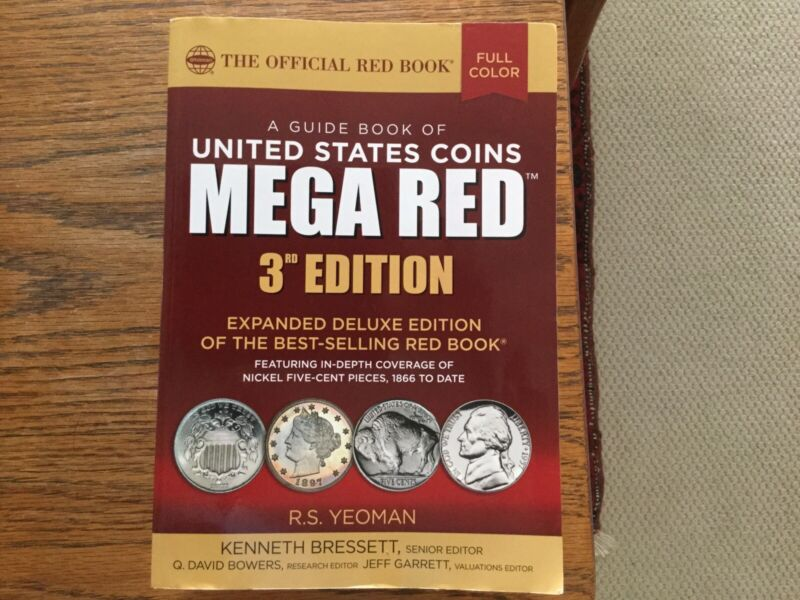 A Guide Book of United States Coins MEGA RED 3rd Edition