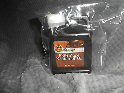 Fiebings 100% Pure Neetsfoot Leather Conditioner Oil, (8)oz. Jug.