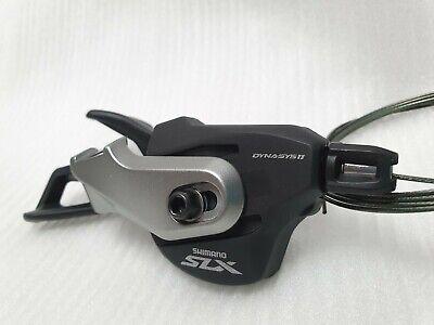 Nouveau Shimano SLX SL-M670 2//3 vitesse gauche shifter Shift LEVIER avec 1800mm Inner Cable