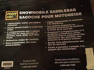 Snowmobile Saddlebags