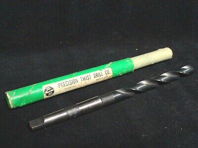 Precision Twist Drill - Taper Shank 209 - 2964 - High Speed Steel Drill - New