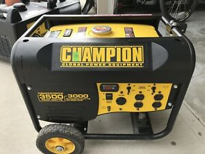 Generator, Champion 3500 Watt