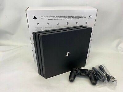Sony PlayStation 4 Pro 1TB Black Console, 1 Contoller #9070029