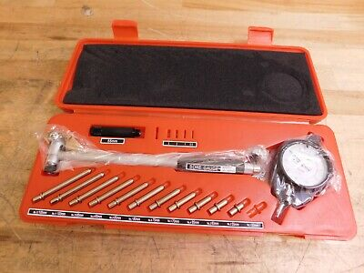 Spi Dial Bore Gage Set 50mm To 160mm 0.01mm Graduation 14-584-7
