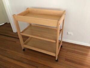 Baby change table