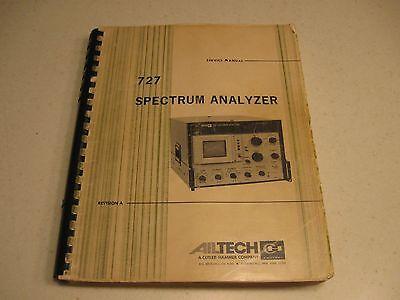 Manual Ailtech 727 Spectrum Analyzer Service