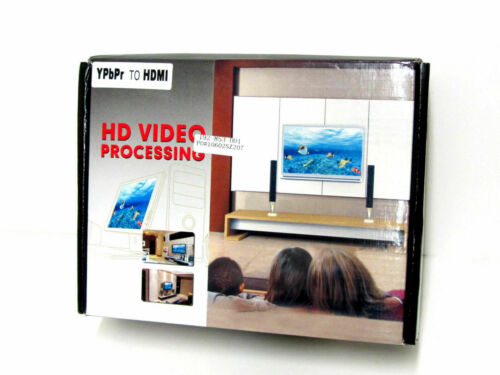 HD Video Processor YPbPr to HDMI ( New ) UPC 4560582901004 192-853-001