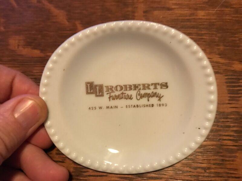 L.L. Roberts Furniture Company Vintage Butter Plate