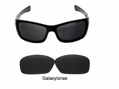 Galaxy Replacement Lenses For Oakley Hijinx Sunglasses Black Polarized 100% (Oakley Hijinx Lens Replacement)
