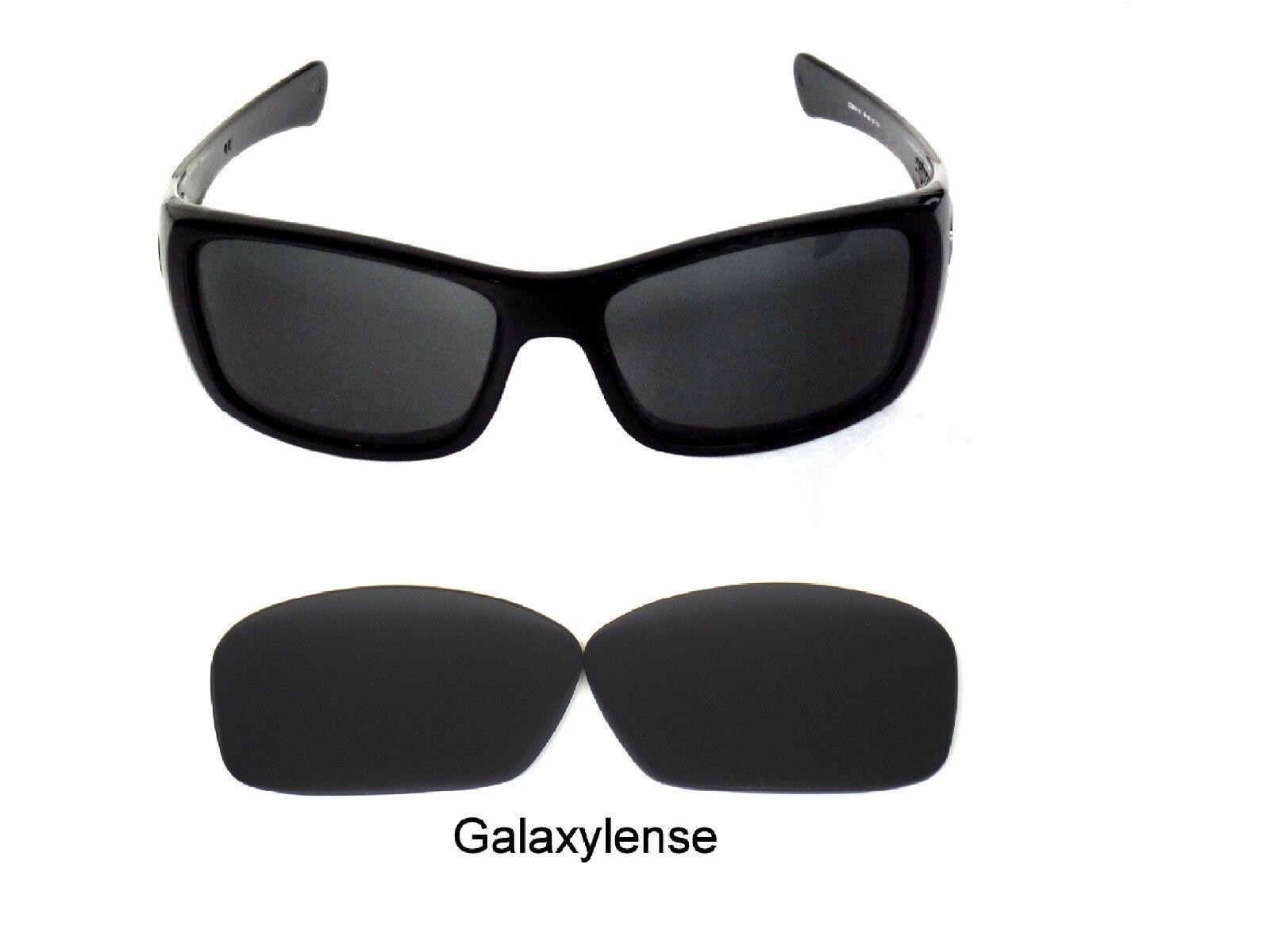 adfb5587a6 Galaxy Replacement Lenses For Oakley Hijinx Sunglasses Black Polarized 100%  UVAB