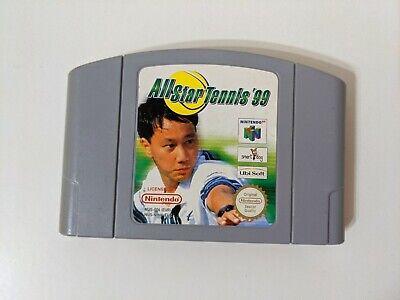 All Star Tennis '99 - N64 Nintendo 64 - PAL - Cartridge only