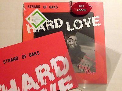 STRAND OF OAKS Hard Love STONER GREEN VINYL LP Flexi 7