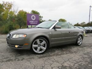 2007 Audi A4 3.2 CONVERTIBLE PREMIUM PLUS CLEAN CAR PROOF NAVIG