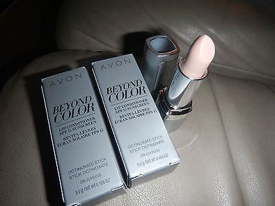 Lip Conditioner    Lot Of 2  Avon Beyond Color Spf 15 Sunscreen    Free Shipping