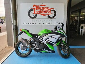 2014 NINJA 300 ABS Special Edition 30th Anniversary LAMS Parramatta Park Cairns City Preview