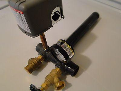 SCH 80 PVC 1 x 11 Tank Tee Install KIT Water Well Pressure Tank SQUARE D 40/60