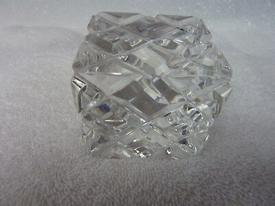 Nice Design Paper (Heavy Clear Glass Cube Paper Weight 2