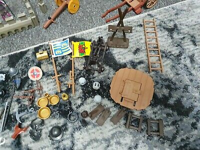 PLAYMOBIL adventure knights Castle Bundle Spare Parts 3030 and battle 4441