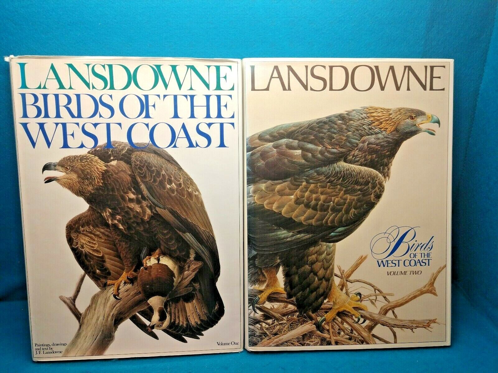Lansdowne Birds Of The West Coast, Volumes 1 2-Coffee Table Books - $59.95